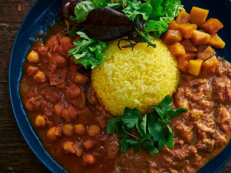 SEASONAL FOOD BY LAPAZ  [MUSHROOM MASALA & CHANA MASALA COMBI PLATE]  27th February DEBUT!!!