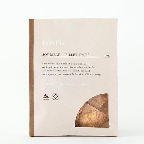 SOY MEAT 【FILLET TYPE】 120g