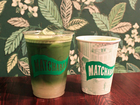 MATCHA BAR POP UP SHOP