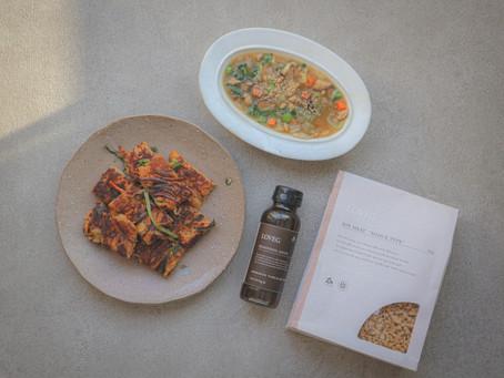 ふきの花咲く季節、LOVEGでつくる心も身体もホッとする美味しい冬野菜のスープの作り方