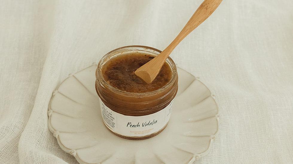 Peach Vidalia Jam