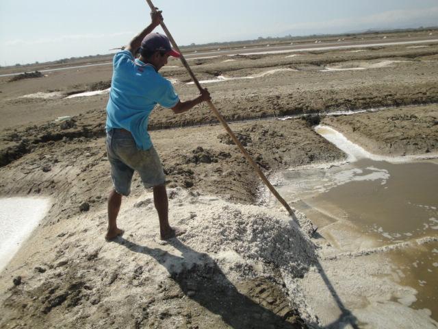 Salt Flats of Aguadulce, Panama