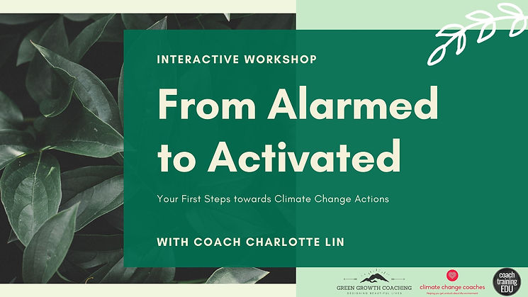 From Alarmed to Activated Workshop Title