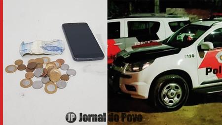 Ladrão rouba ônibus da Sorriso e acaba preso pela PM na Zona Oeste