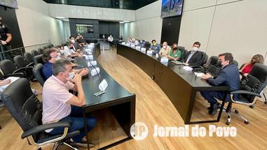 Deputado Vinícius Camarinha defende a causa dos hospitais psiquiátricos do Estado