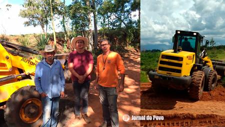 Estradas rurais da região da Fazenda do Estado receberam melhorias
