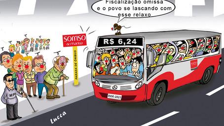 Ônibus lotados mantém relaxos, agrava riscos da Covid-19 e irrita usuários em Marília
