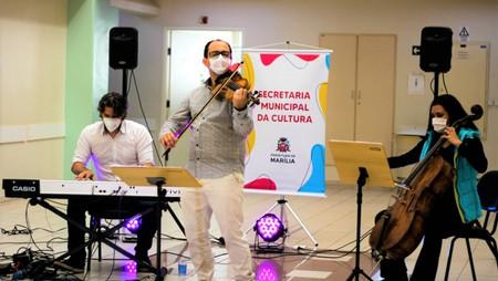 HOMENAGEM: Profissionais da Saúde se emocionam com apresentação de Trio Détaché