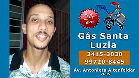 O Bruno também ganhou R$ 200 na Promoção do Gás Santa Luzia!