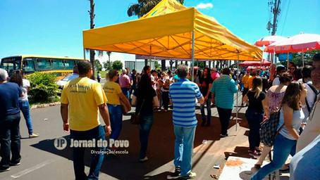 Prefeitura proíbe barracas em frente ao local das provas do Enem, em Marília