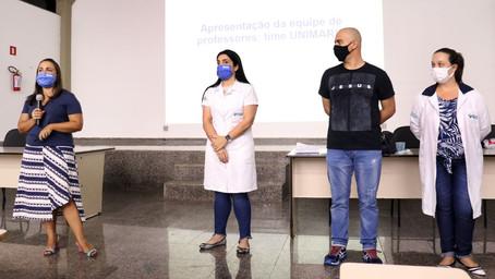 Unimar realiza o acolhimento dos novos alunos do curso Técnico em Enfermagem