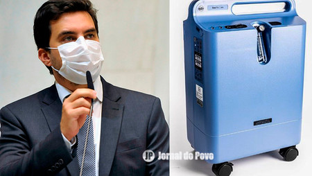COVID: Vinícius conquista aparelhos concentradores de oxigênio para Secretarias Municipais de Saúde