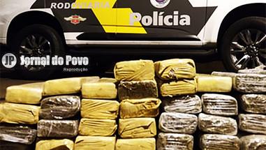 Grávida flagrada em Marília levando  maconha em veículo é condenada a 11,8 anos de reclusão