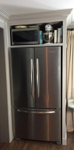 Built in Fridge cabinet