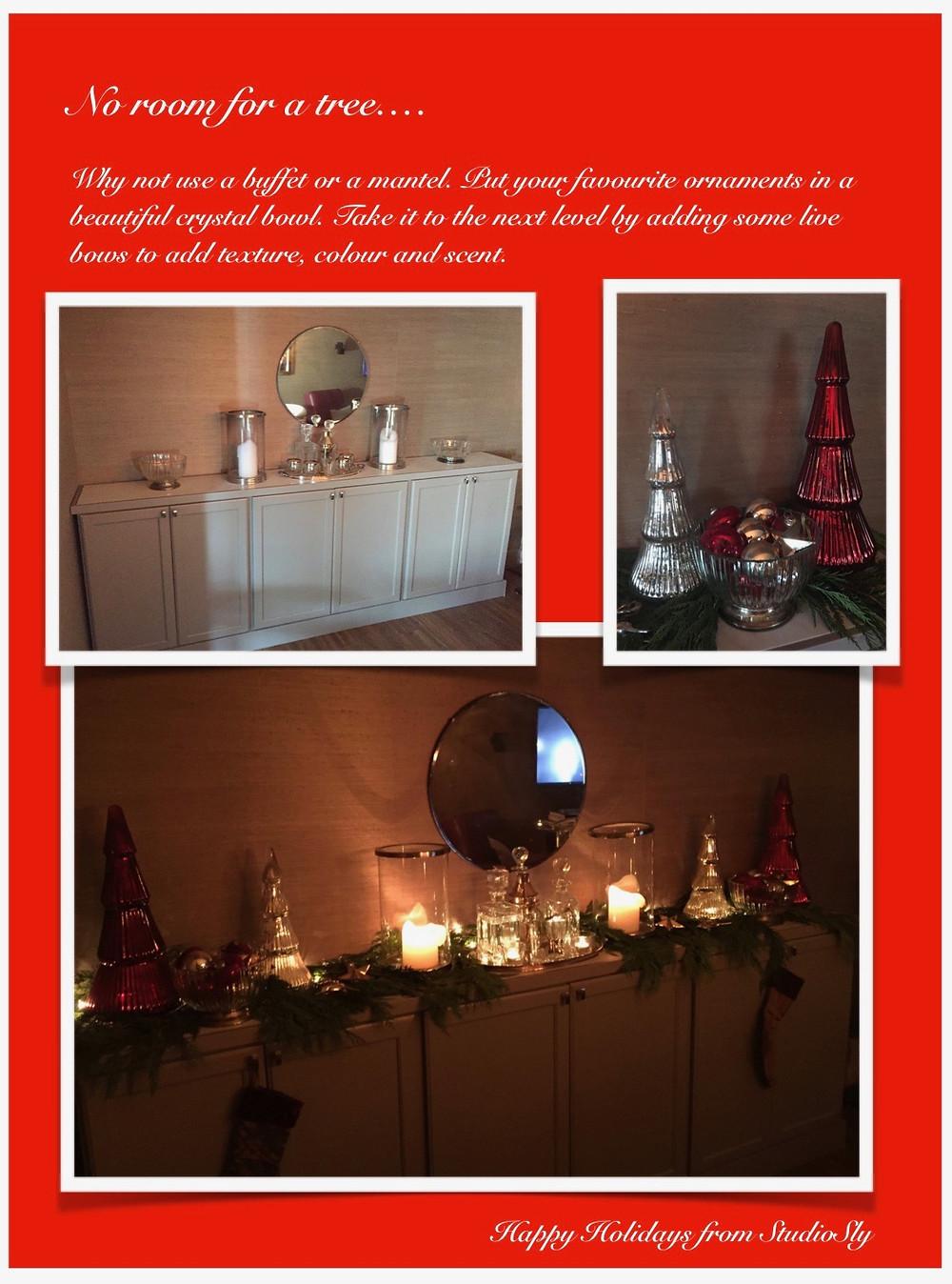 Christmas buffet diy