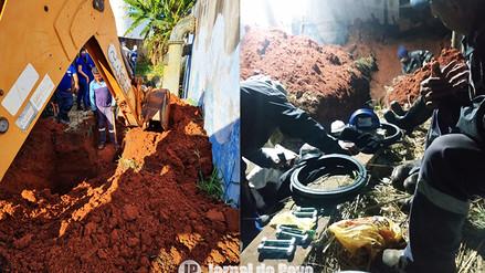 Após conserto de poço, sistema de abastecimento de água é reativado na Zona Sul