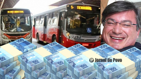 Aumento de tarifas determinado pelo prefeito Daniel Alonso castiga o povo e já rendeu mais de R$ 5,2