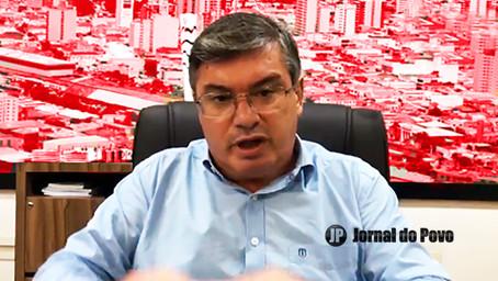 """""""Nossa situação não é nada fácil"""", diz o prefeito Daniel Alonso, sobre Marília na Fase Vermelha"""