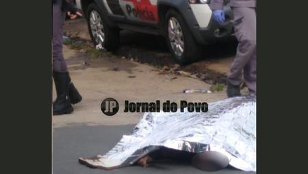 Homicídio movimenta polícia na Via Expressa Sampaio Vidal, no final da manhã deste sábado