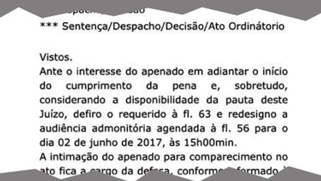 José Ursílio começará a cumprir pena de prisão na próxima sexta-feira