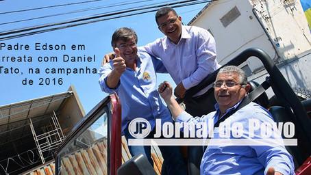 EXCLUSIVO: Promotoria pede condenação do padre Edson por ofensas ao ex-prefeito Vinícius
