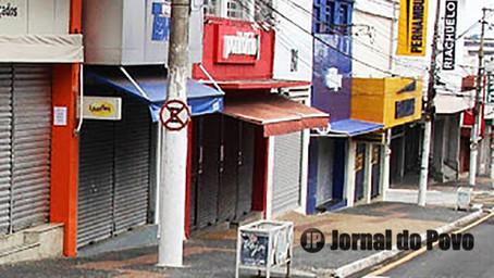 FASE VERMELHA: Comércio fecha, de novo, em Marília, a partir desta segunda-feira