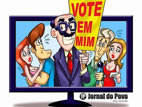 CORRIDA ELEITORAL: Começaram as propagandas políticas. No rádio e TV, a partir do dia 9