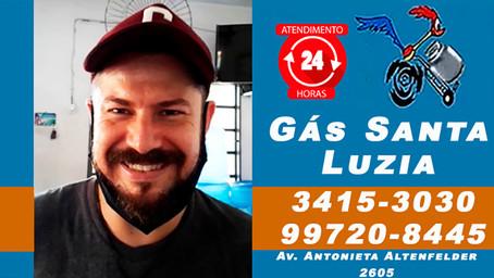 O Cassiano também ganhou R$ 200 na Promoção do Gás Santa Luzia. Participe e seja o próximo ganhador!
