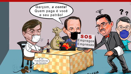 """Donos de restaurantes se mobilizam contra fechamento. """"Setor que mais sofre"""", diz secretário Cássio"""