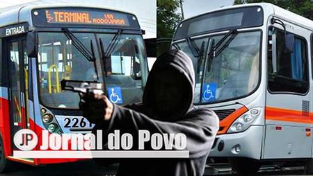 No quinto assalto a ônibus, este mês, ladrão leva R$ 50 da Grande Marília, na Zona Norte