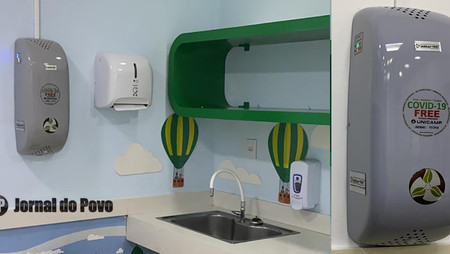 Marília Shopping instala esterilizadores de ar que inativam moléculas contaminadas pelo Coronavírus