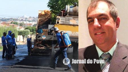 Vereador Júnior da Batista solicita interligação de bairros e recapeamento de vias públicas