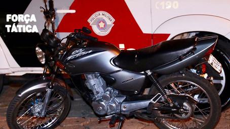 Na onda de furtos de veículos ladrões miram motocicletas. Levaram mais uma!