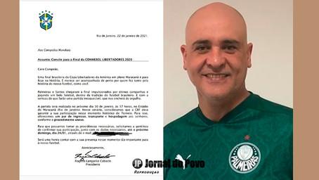 Ex-goleiro Marcão recebe convite para assistir final Palmeiras e Santos na Libertadores. Mas não vai