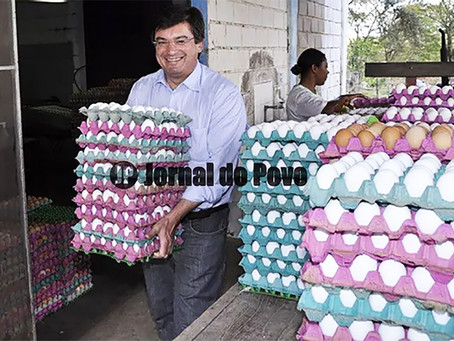 Secretaria de Assistência Social de Marília compra 120 mil ovos de galinha