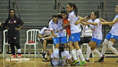 FUTSAL FEMININO: MAC/SELJ vence mais uma e segue invicta às oitavas de final da Copa Paulista