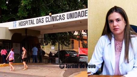 """""""Vacina é esperança de dias melhores"""", diz Paloma Nunes, superintendente do H.C/Famema"""