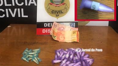"DISE prende traficante com pinos de cocaína ""fantasminha"" na Zona Sul de Marília"