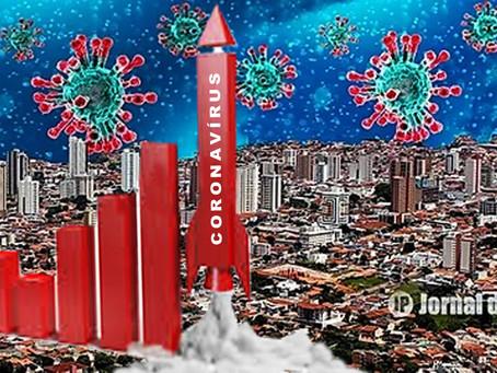 Casos positivos de coronavírus sobem para 2928 neste domingo, em Marília