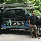 "A 1st Choice Well Service, Well Pump Repair, WNC Well Pump Services"" Water Well Pump Truck, Pulstar Mfg"