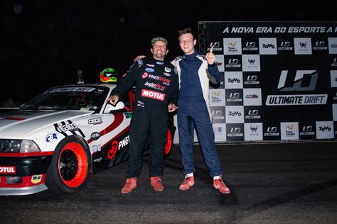 Bruno bär é vice-campeão na 1ª etapa do ultimate drift