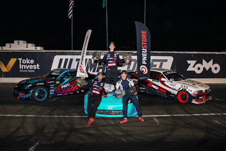 bruno é terceiro  na segunda etapa do ultimate drift