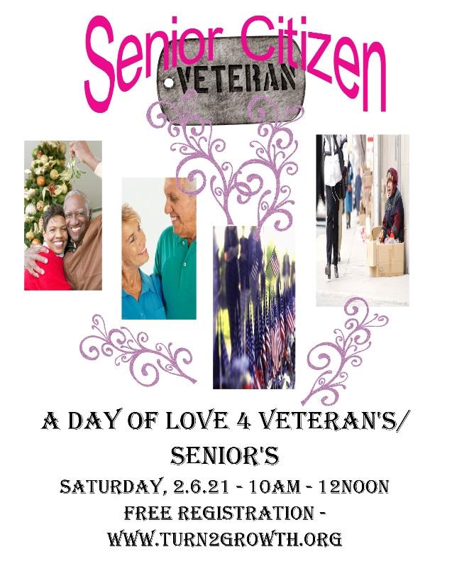 A Day of Love 4 Veterans/Seniors