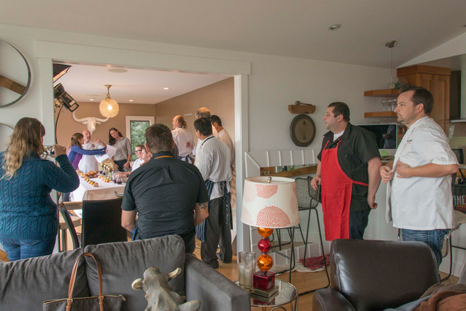 Marin Magazine Tastemakers and  The Last Supper-Marin Mag style