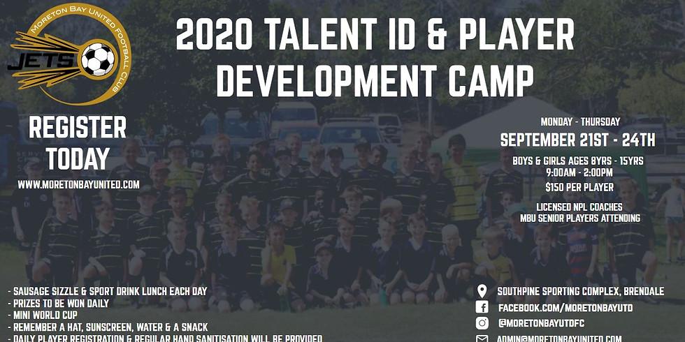 2020 Talent ID Player Development 4 Day Camp