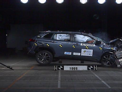 Hasil Memuaskan Uji Tabrak Toyota Corolla Cross dari ASEAN NCAP