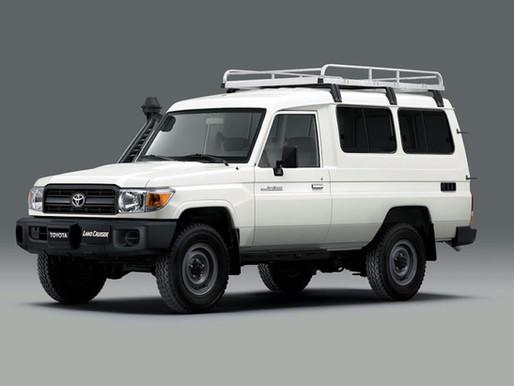 Toyota Land Cruiser 70 Dijadikan Mobil Pengangkut Vaksin COVID-19