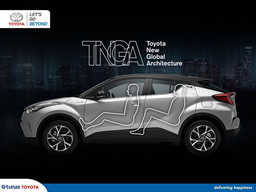 toyota new global architecture