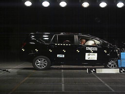 Hasil Uji Tabrak Toyota Kijang Innova, Bintang 5 ASEAN NCAP