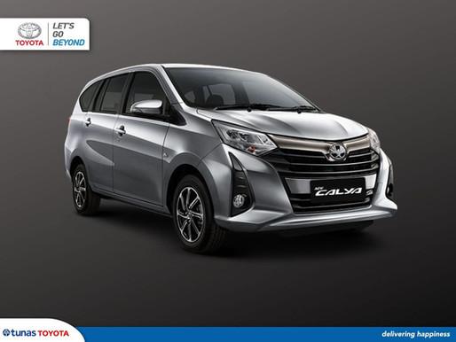 Sangat Irit! Estimasi Konsumsi BBM Toyota Calya 2021